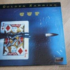 Discos de vinilo: GOLDEN EARRING, CUT, MERCURY RECORDS, 82,1º EDICCION ORIGINAL, MADE IN GERMANY, LP. Lote 45063257