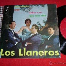 Discos de vinilo: LOS LLANEROS ALMA LLANERA LUPE 1962 EP. Lote 45065507