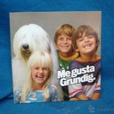 Discos de vinilo: - ME GUSTA GRUNDIG - CURIOSO DISCO FLEXIBLE CON PUBLICIDAD DE 1979. Lote 283688208