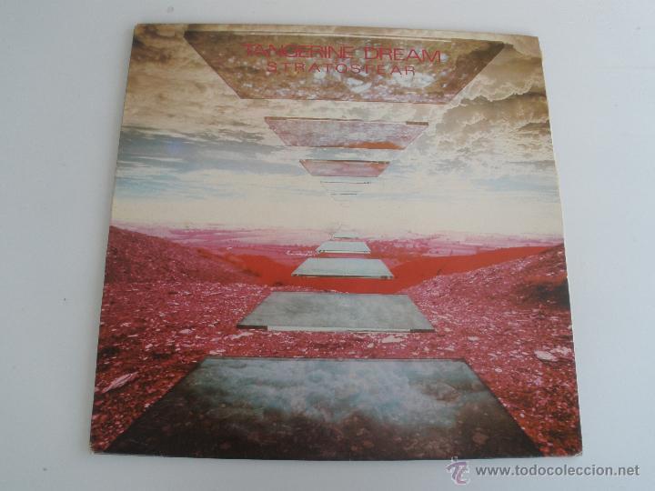 TANGERINE DREAM - STRATOSFEAR 1984 (Música - Discos - LP Vinilo - Electrónica, Avantgarde y Experimental)