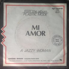Discos de vinilo: PLASTIC MODE - MI AMOR . SINGLE . 1985 ZYX RECORDS - ZYX 1135 . Lote 45071220