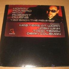 Disques de vinyle: HARRY ROMERO FEATURING ROBERT OWENS I GO BACK REMIXES. SUBLIMINAL AÑO 2003. Lote 45071801