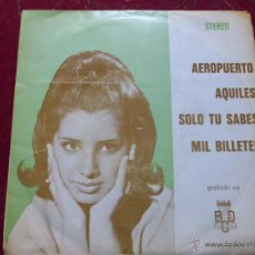 Discos de vinilo: ORQUESTA FANTASÍA Y NARBO - AEROPUERTO / AGUILES / SOLO TU SABES / MIL BILLETES - RARO -. Lote 45076764