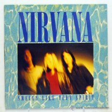 Discos de vinilo: NIRVANA - 'SMELL LIKE TEEN SPIRIT' (MAXI SINGLE VINILO. ORIGINAL 1991). Lote 45077002