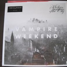 Discos de vinilo: VAMPIRE WEEKEND - MODERN VAMPIRES OF THE CITY (2013) - LP REEDICIÓN XL NUEVO. Lote 45077151