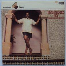 Discos de vinilo: EDMUNDO ROS HOY. DECCA 4 FASES 1982. SIN ESCUCHAR. Lote 45077809