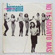 Discos de vinilo: OBJETIVO BIRMANIA - 'NO TE AGUANTO MÁS/LA ORGANIZACIÓN' (MAXI SINGLE VINILO). Lote 45078663