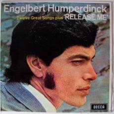 Discos de vinilo: ENGELBERT HUMPERDINK - RELEASE ME. Lote 27751063