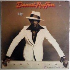 Discos de vinilo: DAVID RUFFIN - WHO I AM - MOTOWN 1975 MODERN SOUL ORIG USA. Lote 27976635