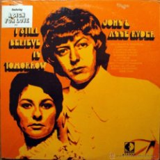Discos de vinilo: JOHN & ANNE RYDER - I STILL BELIEVE IN TOMORROW - SUNSHINE FOLK. Lote 30245482