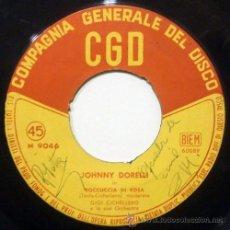Discos de vinilo: JOHNNY DORELLI - BOCCUCCIA DI ROSA - ITALIA JAZZ SWING SCAT ((ESCUCHA)). Lote 31606086