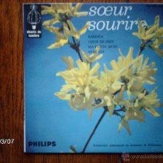 Discos de vinilo: SOEUR SOURIRE ( LA HERMANA SONRISA ) - KABINDA + 3. Lote 45081802