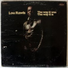 Discos de vinilo: LOU RAWLS • THE WAY IT WAS, THE WAY IT IS - SEASON OF THE WITCH!. Lote 26724034