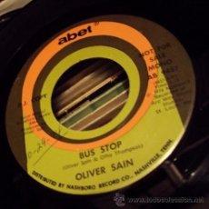 Discos de vinilo: OLIVER SAIN - BUS STOP - FUNK BREAKS ((ESCUCHA)). Lote 32113253
