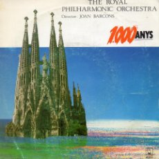 Discos de vinilo: ROYAL PHILHARMONIC ORCHESTRA, SG, LA SANTA ESPINA + 1, AÑO 1988. Lote 45082720