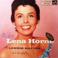 Discos de vinil: LENA HORNE. IT´S LOVE. LP. Lote 45083031