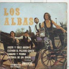 Discos de vinilo: LOS ALBAS. ORLADOR 1971. EP. Lote 45083483