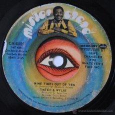 Discos de vinilo: SIMTEC & WYLIE - NINE TIMES OUT OF TEN - SOUL FUNK ((ESCUCHA)). Lote 32114279
