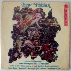 Discos de vinilo: TONY FABIAN - RARO LP HAMMOND LOUNGE INSTRUMENTAL ((ESCUCHA)) VERSION DE PAUL REVERE & RAIDERS. Lote 27752111