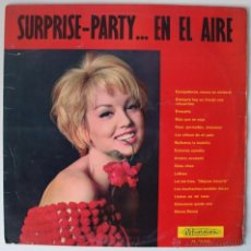Discos de vinilo: VVAA SURPRISE PARTY… EN EL AIRE - RECOP CHANSON FRANCESA ORIGINAL 60S. Lote 27752135
