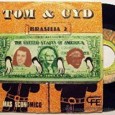 Discos de vinilo: TOM & CID - BRASILIA 2 - SAMBA TROPICALISTA ((ESCUCHA)). Lote 27850746