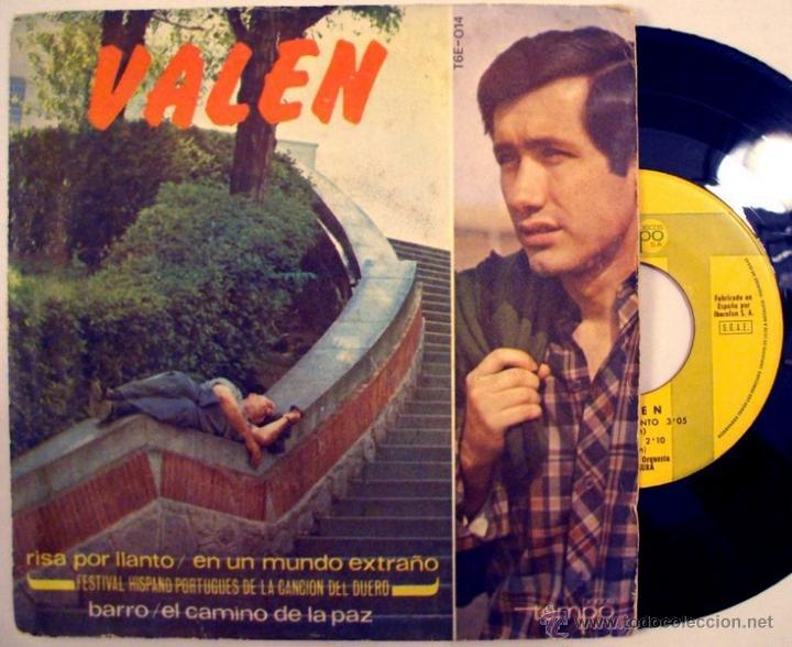 VALEN & GREGORIO GARCIA SEGURA - EN UN MUNDO EXTRAÑO ((ESCUCHA)) (Música - Discos de Vinilo - EPs - Solistas Españoles de los 50 y 60)