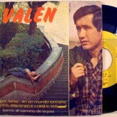 Discos de vinilo: VALEN & GREGORIO GARCIA SEGURA - EN UN MUNDO EXTRAÑO ((ESCUCHA)). Lote 31605451