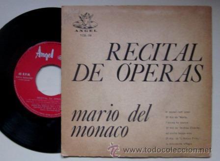 Discos de vinilo: MARIO DEL MONACO - RECITAL DE ÓPERAS - EDITADO EN BRASIL - Foto 2 - 45087824