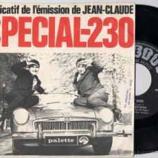 Discos de vinilo: ANDRE BRASSEUR - EARLY BIRD / SPECIAL-230 (SG 1965) (((ESCUCHA))). Lote 45087955