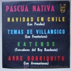 Discos de vinilo: PASCUA NATIVA - NAVIDAD EN CHILE. Lote 45090925