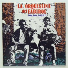 Discos de vinilo: LA ORQUESTINA DEL FABIROL - 'SUDA SUDA FABIROL' (LP VINILO. CARPETA ABIERTA. LIBRETO. ORIGINAL 1989). Lote 45094068