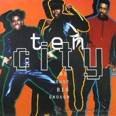 Discos de vinilo: TEN CITY - NO HOUSE BIG ENOUGH (1990) - LP VINILO (1990) EDICIÓN DE ALEMANIA - HOUSE DE CHICAGO. Lote 45096276