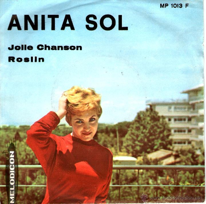 Discos de vinilo: ANITA SOL-JOLLE CHANSON MUY RARO - Foto 2 - 45099360