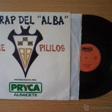 """Discos de vinilo: EL RAP DEL """"ALBA"""". ESTEREO 45 R.P.M. THE PILILOS. AUTOR JESÚS ÁBREGO GIL. EDICIONES CLAXON 1992.. Lote 45106519"""