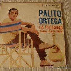 Discos de vinilo: DISCO SINGLE PALITO ORTEGA. Lote 45111004