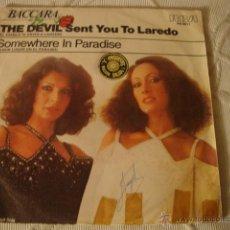 Discos de vinilo: DISCO SINGLE BACCARA. Lote 45111008