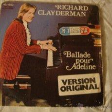 Discos de vinilo: DISCO SINGLE RICHARD CLAYDERMAN. Lote 45111448