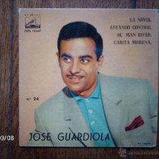 Discos de vinilo: JOSE GUARDIOLA - Nº 24 - LA NOVIA + 3. Lote 45116199