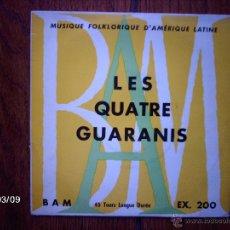 Discos de vinilo: LES QUATRE GUARANIS - EL HUMAHUAQUEÑO + 5. Lote 45116635