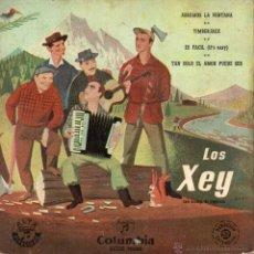 Discos de vinilo: XEY,LOS, EP, ABRAMOS LA VENTANA + 3, AÑO 1959. Lote 45116745