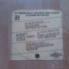 Discos de vinilo: RAMONES - THE DEAD BOYS - FLAMIN´GROOVIES - TALKING HEADS- 1978 DISCO PROMOCIONAL SOLO EN ESPAÑA. Lote 45119712