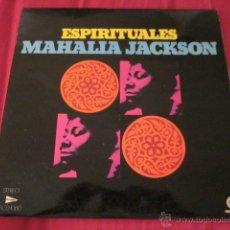 Discos de vinilo: MAHALIA JACKSON. ESPIRITUALES. LP. CORTTY DIX. 1975. EXCELENTE ESTADO.. Lote 45123212