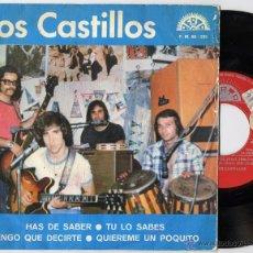 Discos de vinilo: CASTILLOS, LOS - HAS DE SABER (EP 1973) (((ESCUCHA)). Lote 45125487