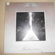 Discos de vinilo: JOAN ISAAC (LP) BARCELONA CIUTAT GRIS - AÑO 1980 - PORTADA ABIERTA - HOJA INTERIOR CON LETRAS. Lote 45128991