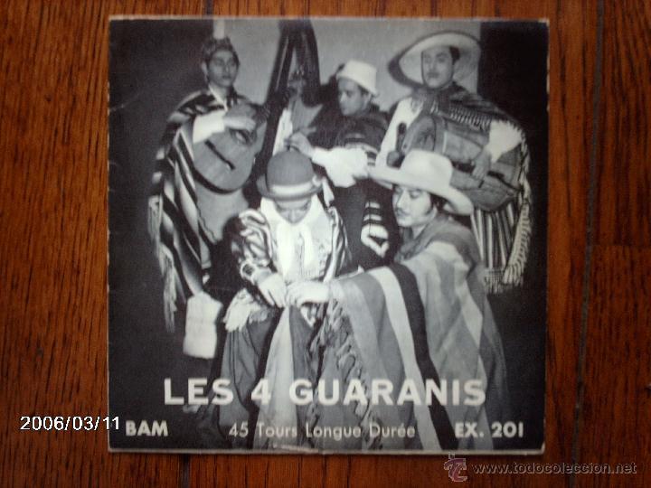 LES 4 GUARANIS - HASTA OTRO DÌA + 4 (Música - Discos de Vinilo - EPs - Grupos y Solistas de latinoamérica)