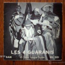 Discos de vinilo: LES 4 GUARANIS - HASTA OTRO DÌA + 4. Lote 45129411