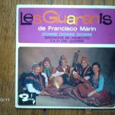 Discos de vinilo: LES GUARANIS DE FRANCISCO MARIN - OOWEE OOWEE OOWEE + 3. Lote 45129460