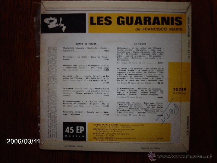 Discos de vinilo: les guaranis de francisco marin - oowee oowee oowee + 3 - Foto 2 - 45129460