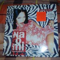Discos de vinilo: NAOMI CAMPBELL-I WANT TO LIVE. Lote 45129649