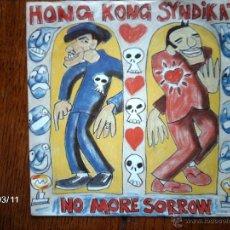 Discos de vinilo: HONG KONG SYNDICATE - NO MORE SORROW + DONT STOP TO MOVE . Lote 45132360